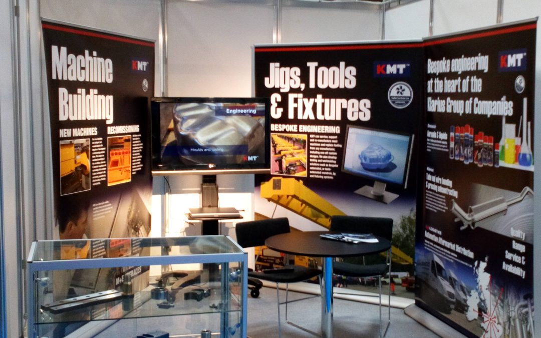 KM Tools Limited enjoys talking bespoke machines and components at SubCon 2019