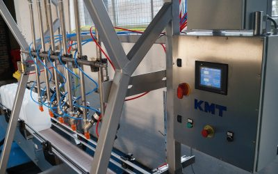 Customised KM Tools volume filling machine supports Emissco's expanding production