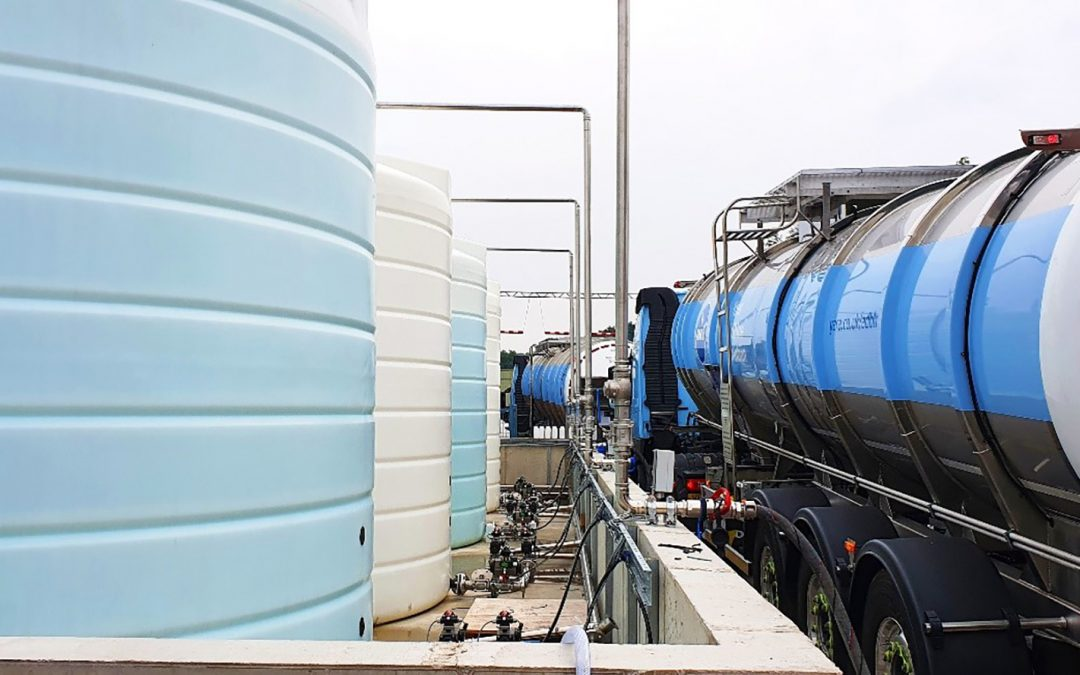 KM Tools builds AdBlue® tank farm for multi-million litre packaging plant