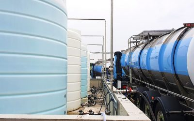 KM Tools builds AdBlue® tank farm for multi-million litre packaging plant