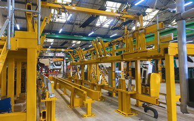 Alstom uses KM Tools SmartLine Jigs for construction of trains for new Cairo Monorail